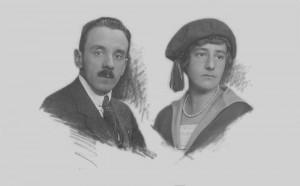 Ödön Justh a Helén Révay